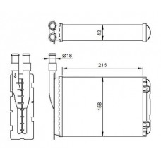 Fűtő radiátor
